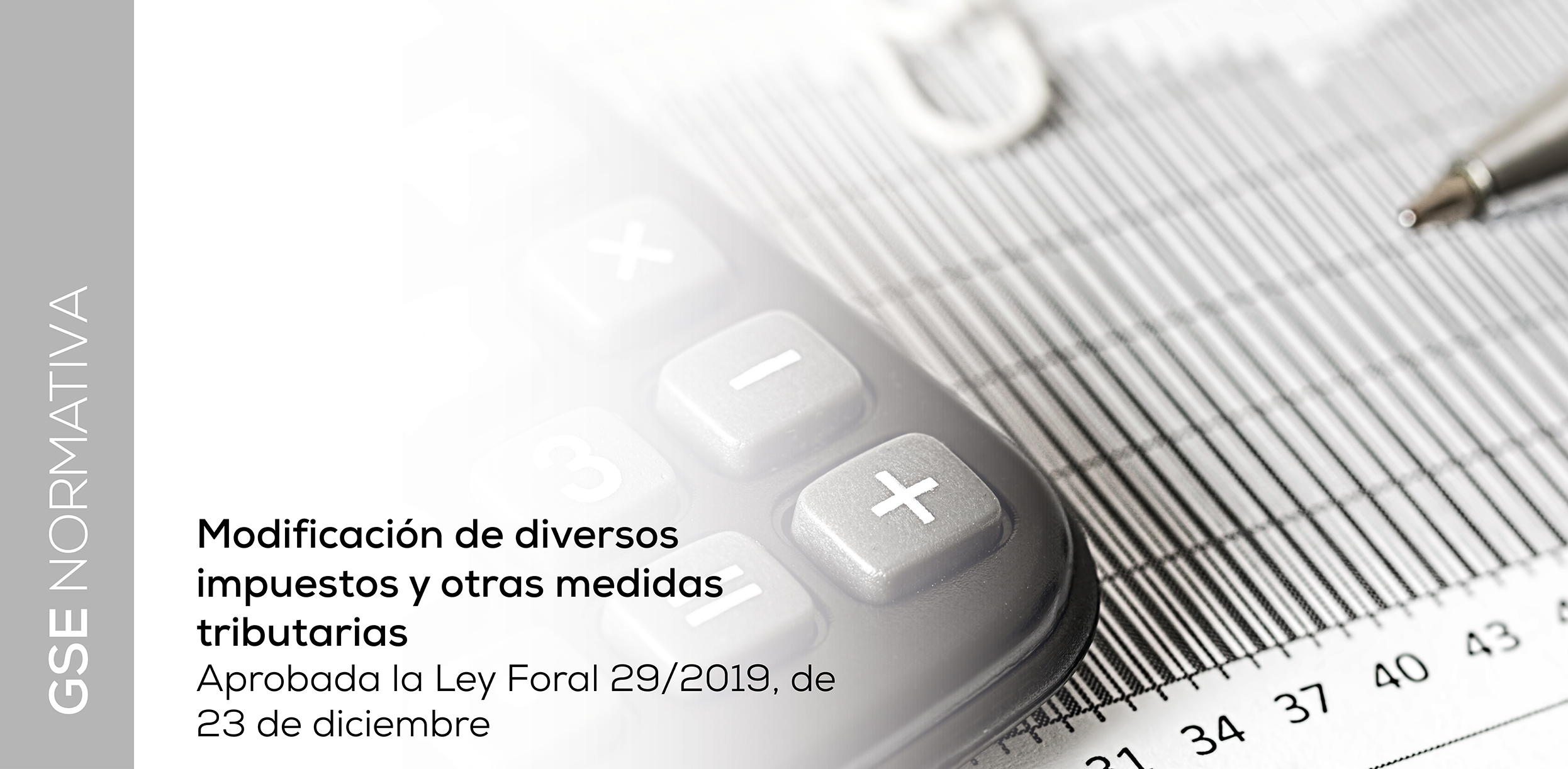 Ley Foral 29/2019