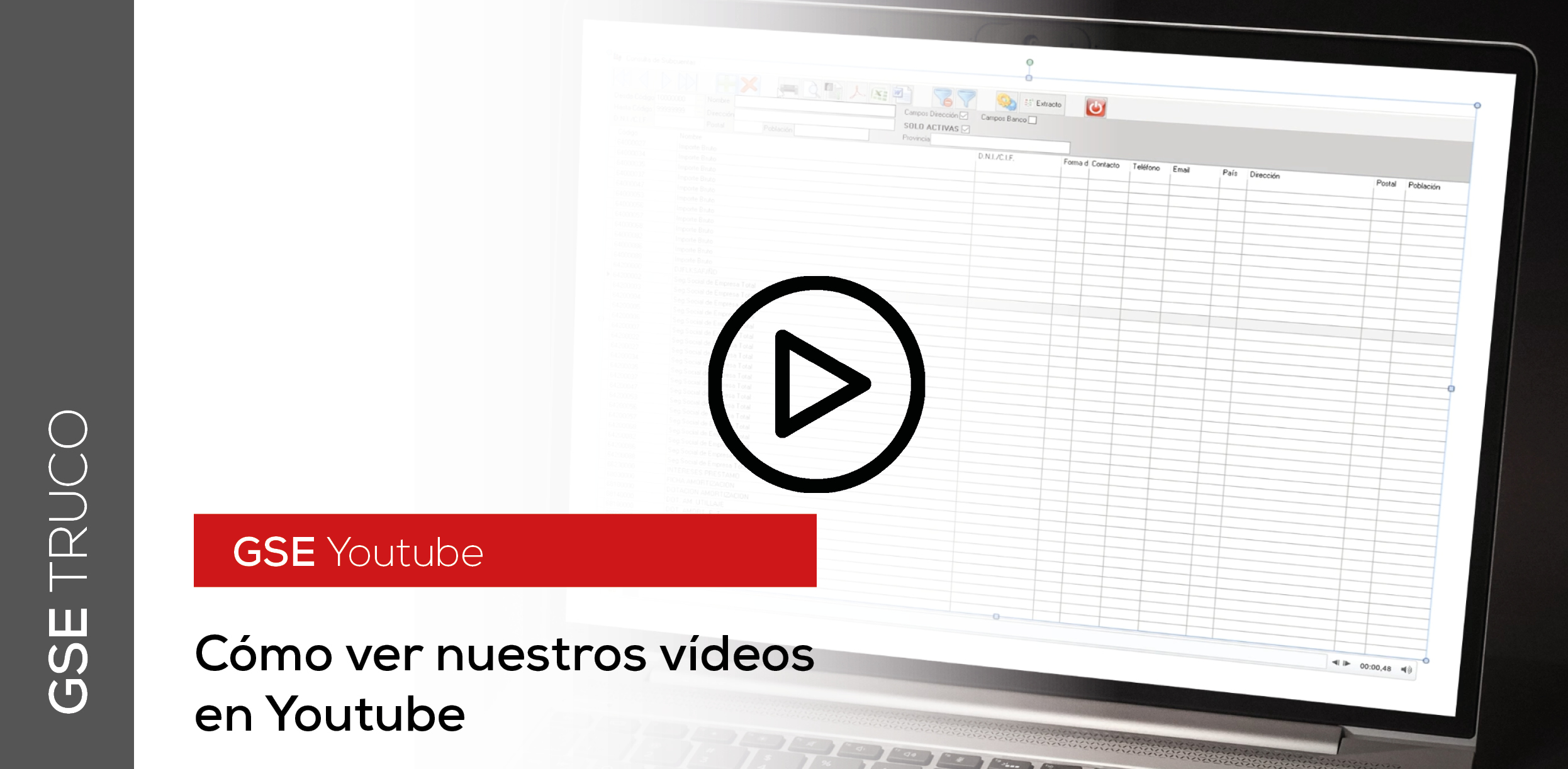 GSE Truco: Youtube